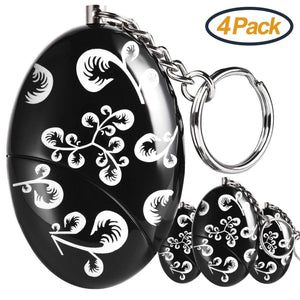 Save on foaber personal alarm keychain personal alarms for women purse self defense keychain safe sound 120 130 db alarm device for women elderly kids night workers