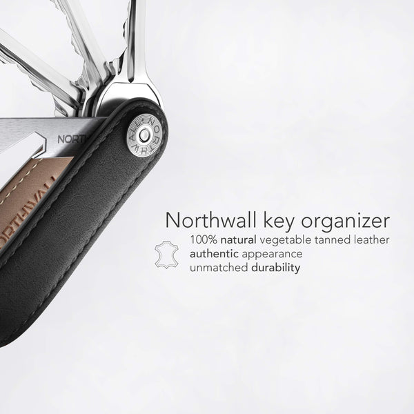 Shop for compact key organizer leather keychain pocket smart key holder 100 real leather secure locking mechanism key chain up to 10 keys tools edc stainless steel bottle opener multitool