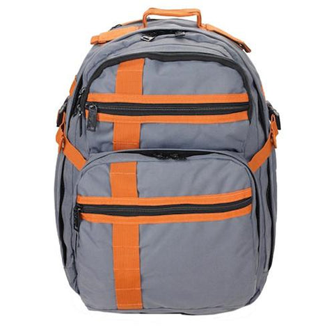 INCOG Backpack - Battleship Gray & Rust - GhillieSuitShop