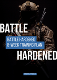military exercises for people who have previous injuries. Military workout program Battle Hardened gets you back into shape with functional training.