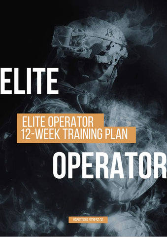 special forces preparation guide Elite Operator. 12-week training guide and workouts for special operations candidates.  (2402753413180)