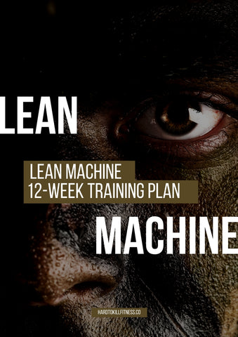 shred fat and build muscle using Lean Machine. Military fitness program designed to help weight loss and build muscle.  (2403547054140)