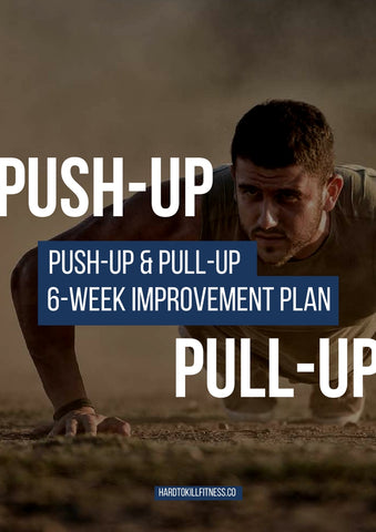 Do more push-ups and pull-ups with this fitness program. Add on to your current workout routine to build pushups and pullups. (2427171373116)