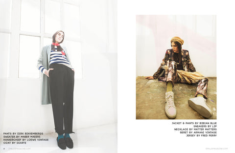 OPALUS Magazine featuring LIP Label Sneakers
