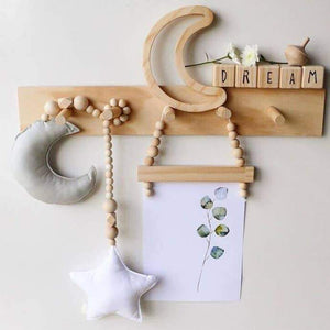 Moon & Star Nursery Garland