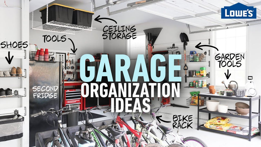 A garage can be either a junk magnet or a storage haven