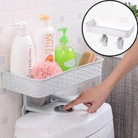 Space Saving Toilet Shelf Organizer