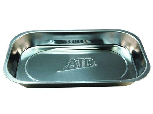 ATD Tools 8761 Stainless Steel Rectangle Magnetic Parts Tray