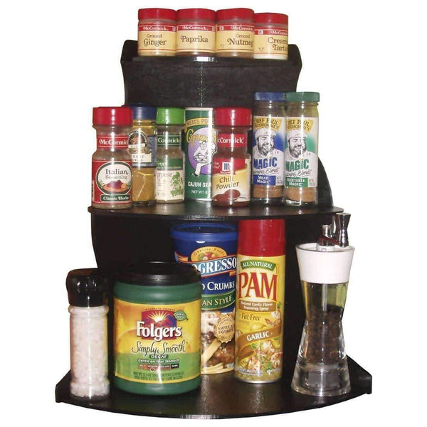 "Corner Shelf Organizer 16"" H, Store Things Used Daily Right Where You Need Them & Free up Cupboard Space Too. Proudly Made in the USA ! by PPM."