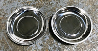 "(X2 pcs) 6"" Stainless Steel Magnetic Parts Tray Organizer Garage Home Auto Tools"