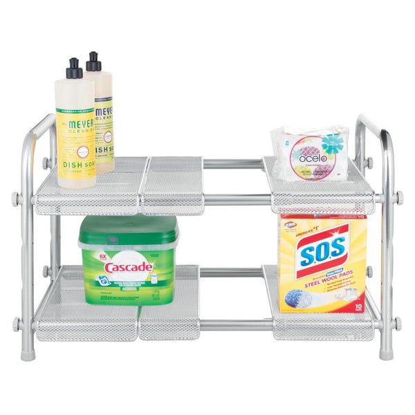 InterDesign Cabrini Under Sink 2 Tier Shelf Organizer