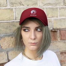 Load image into Gallery viewer, Streamer Logo (white) Unisex Twill Hat