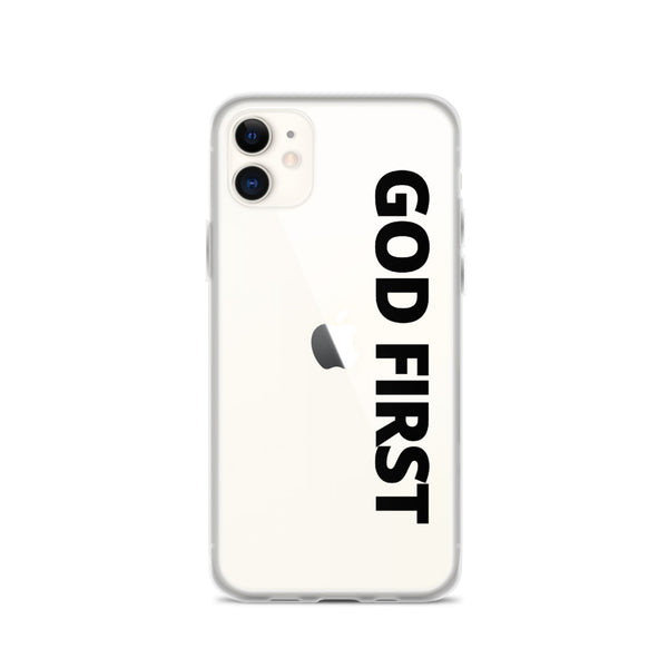 God First Black - Phone Case for iPhone