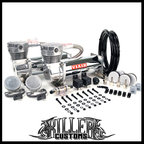VIAIR 480C Dual Value Pack Air Compressors Chrome FREE SHIPPING