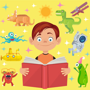 BookTribe - Book Subscription Box for kids - get Excited about reading