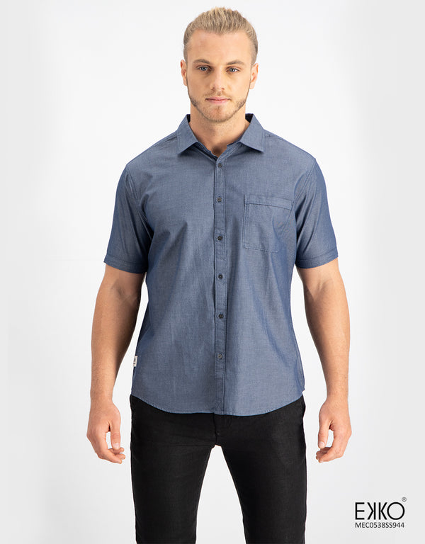 Cotton Short Sleeve Shirt  MEC0538SS