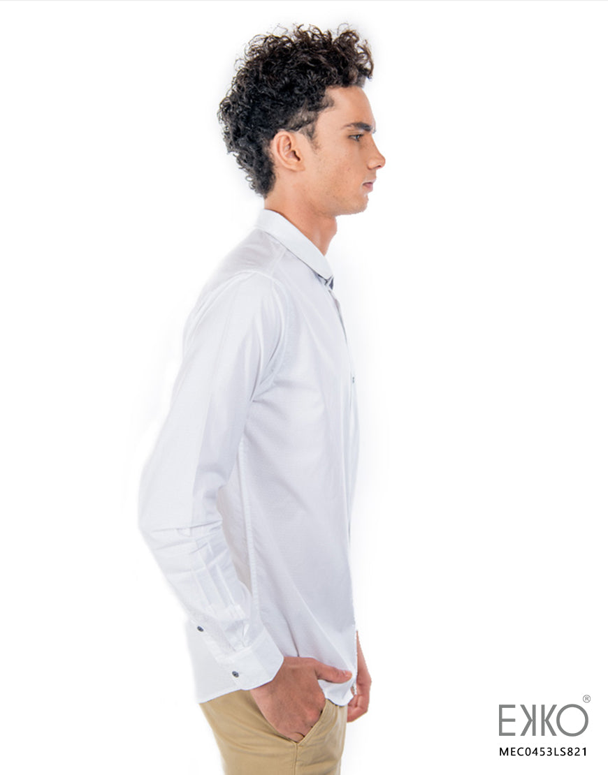 Cotton Long Sleeve Shirt MEC0453LS