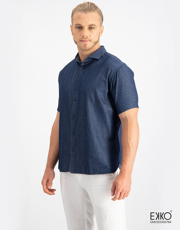 Cotton Short Sleeve Shirt  MEC0534SS