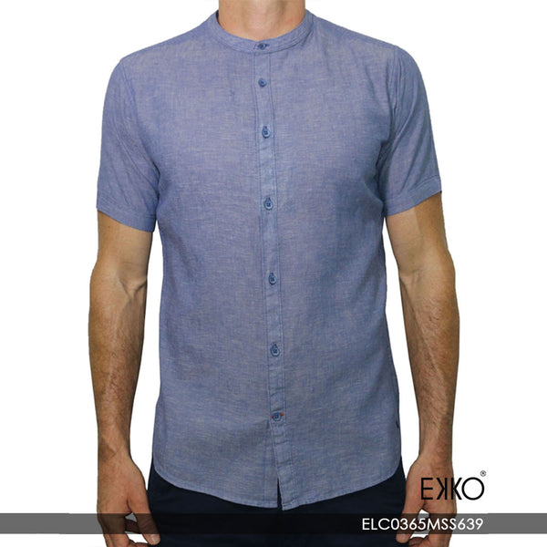 Linen Short Sleeve Shirt ELC0365MSS