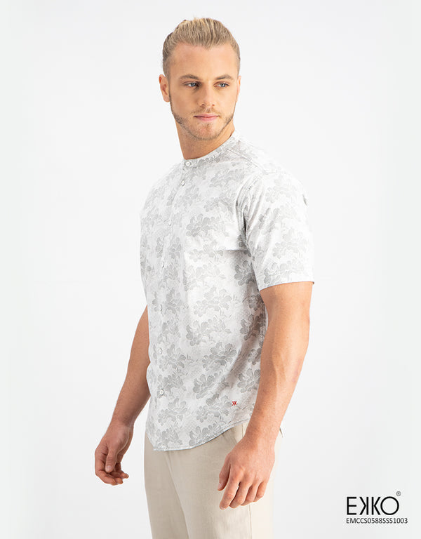 Cotton Short Sleeve Shirt - EMCC0588SSS1003