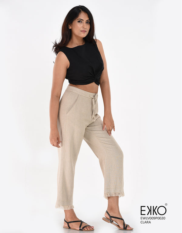 Beige Pants | Casual Pants | Ladies Wear | EKKO