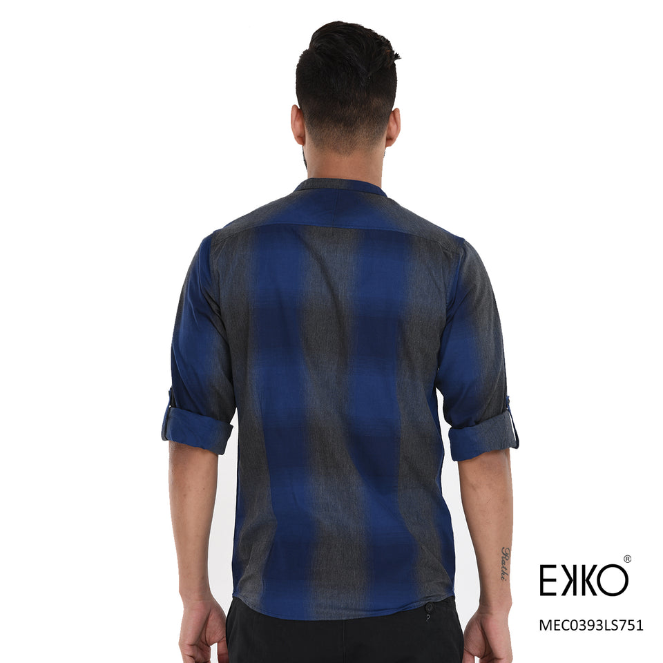 Cotton Roll-up Shirt MEC0393LS