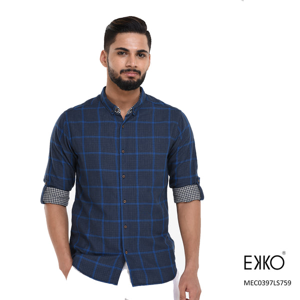 Cotton Roll-up Shirt MEC0397LS