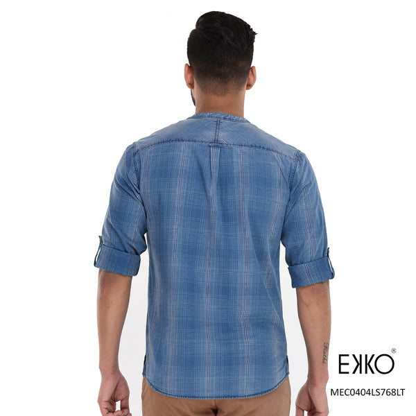 Cotton Roll-up Shirt MEC0404LS768