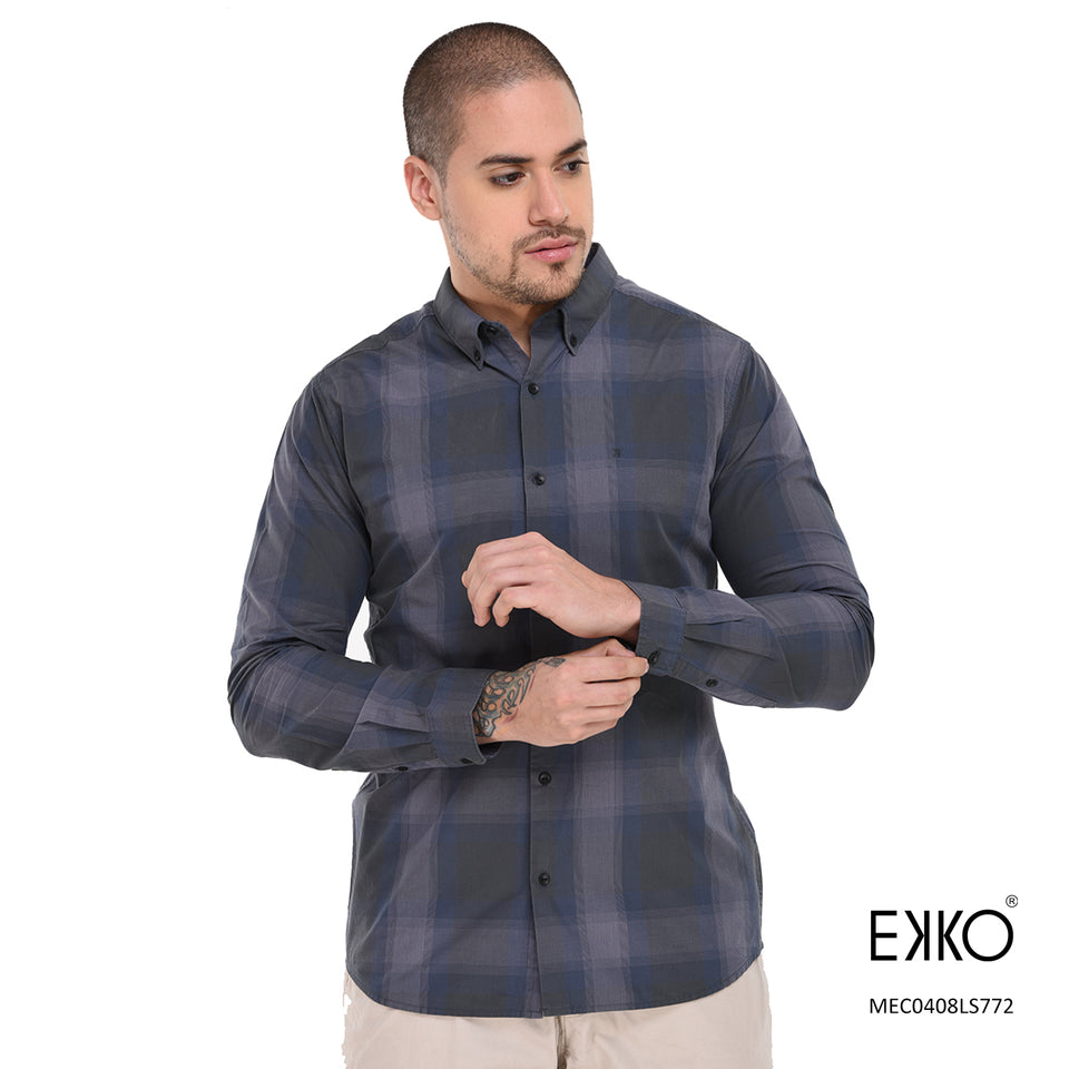 Cotton Long Sleeve Shirt MEC0408LS