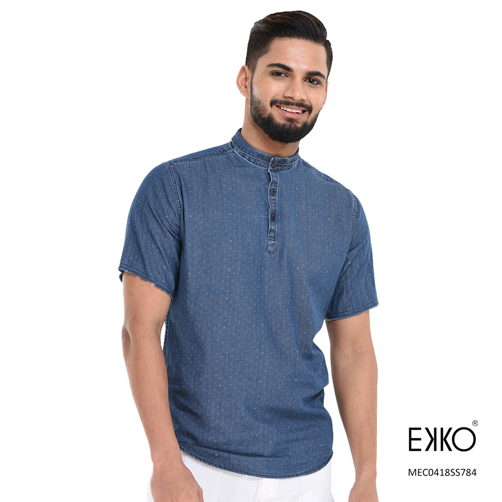 Cotton Short Sleeve Shirt MEC0418SS