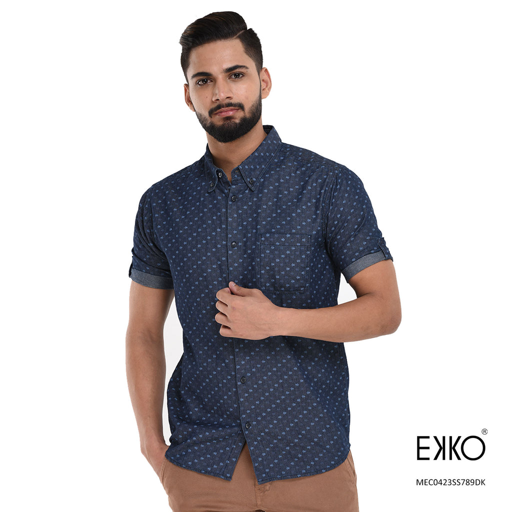 Cotton Short Sleeve Shirt MEC0423SS