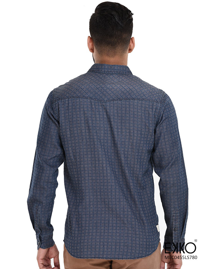 Cotton Long Sleeve Shirt MEC0455LS
