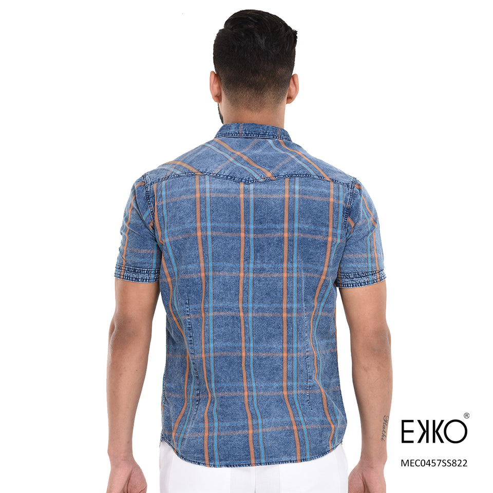Cotton Short Sleeve Shirt MEC0457SS