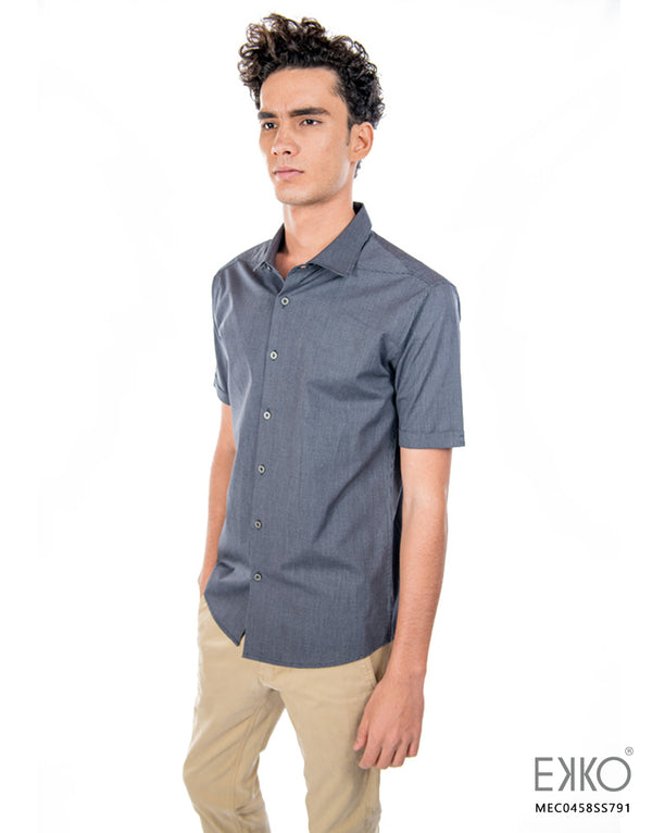 Cotton Short Sleeve Shirt MEC0458SS
