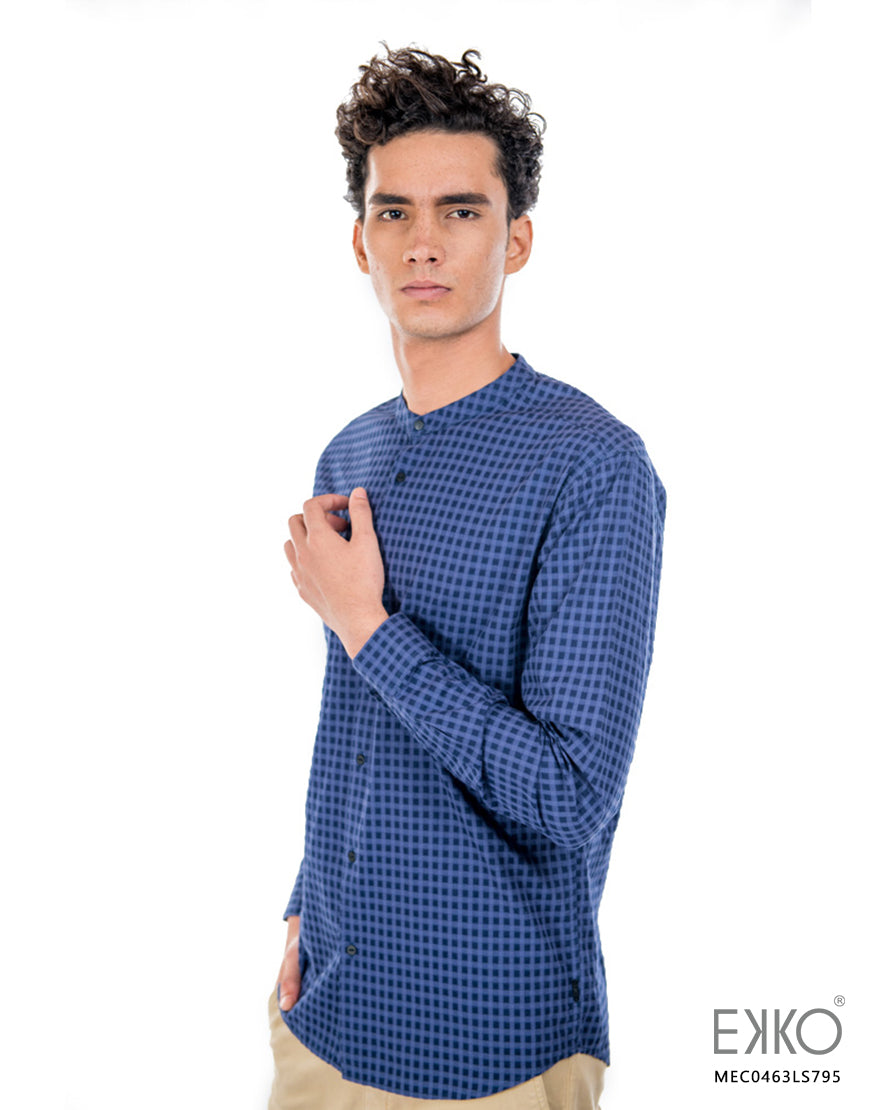 Cotton Long Sleeve Shirt MEC0463LS
