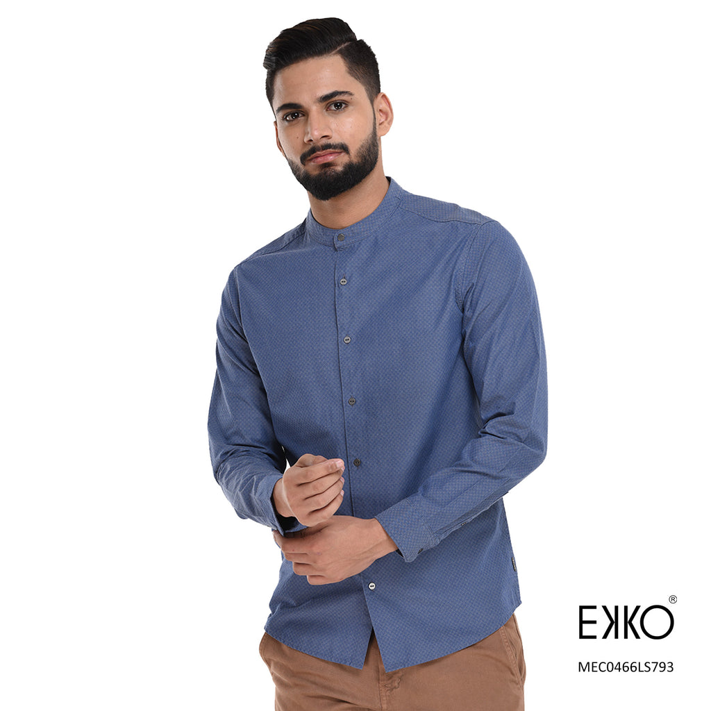 Linen Long Sleeve Shirt MEC0466LS