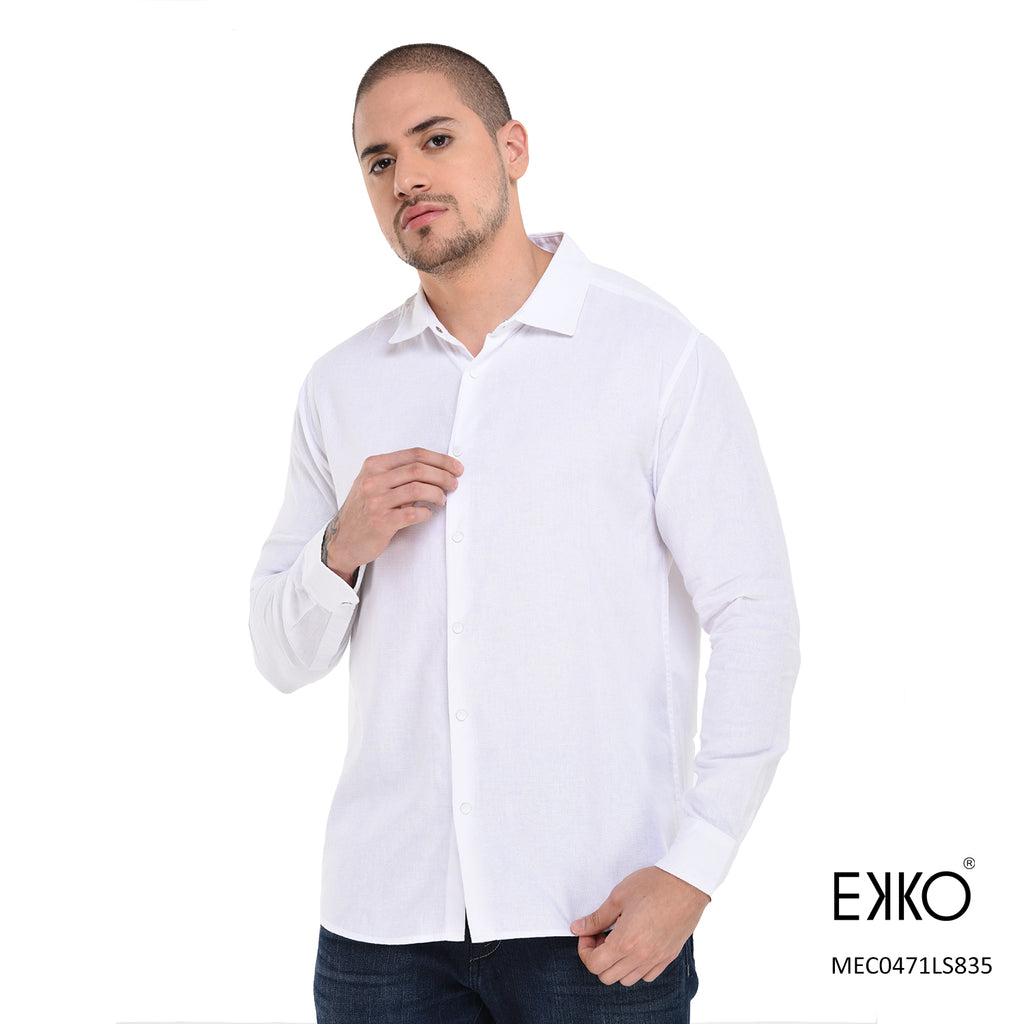 Cotton Long Sleeve Shirt MEC0471LS