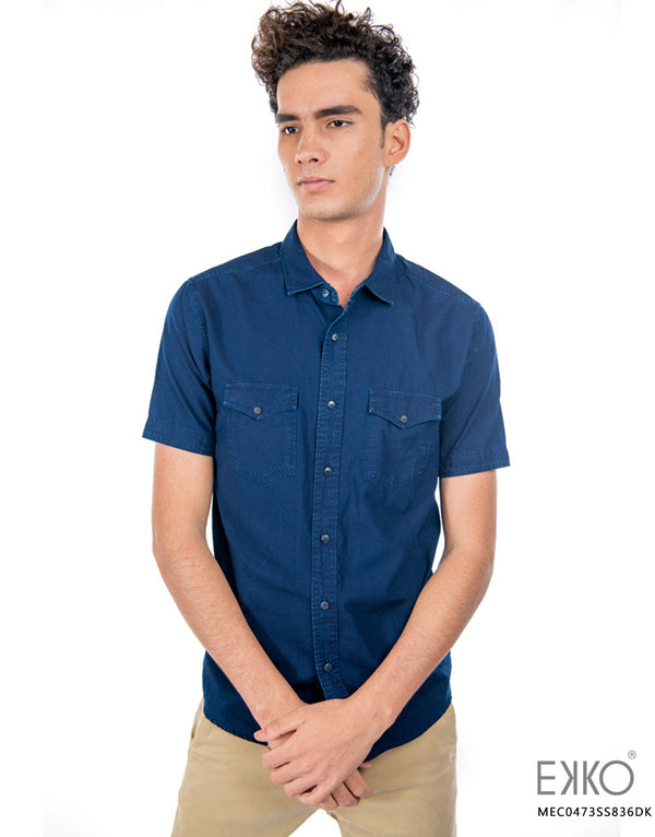 Cotton Short Sleeve Shirt MEC0473SS