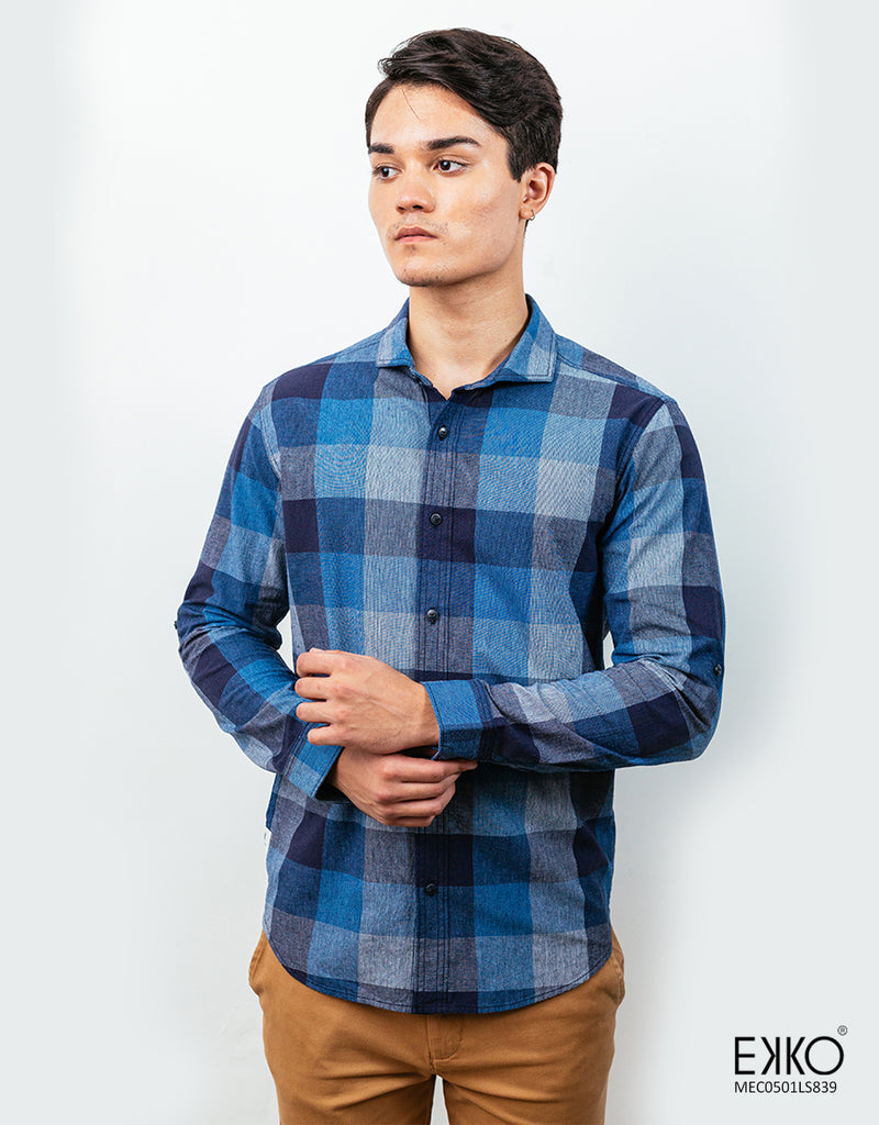 Cotton Long Sleeve Shirt - MEC0501LS