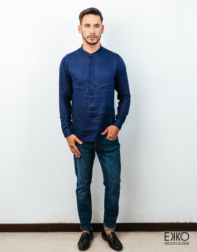 Linen Long Sleeve Shirt MEL0513LS