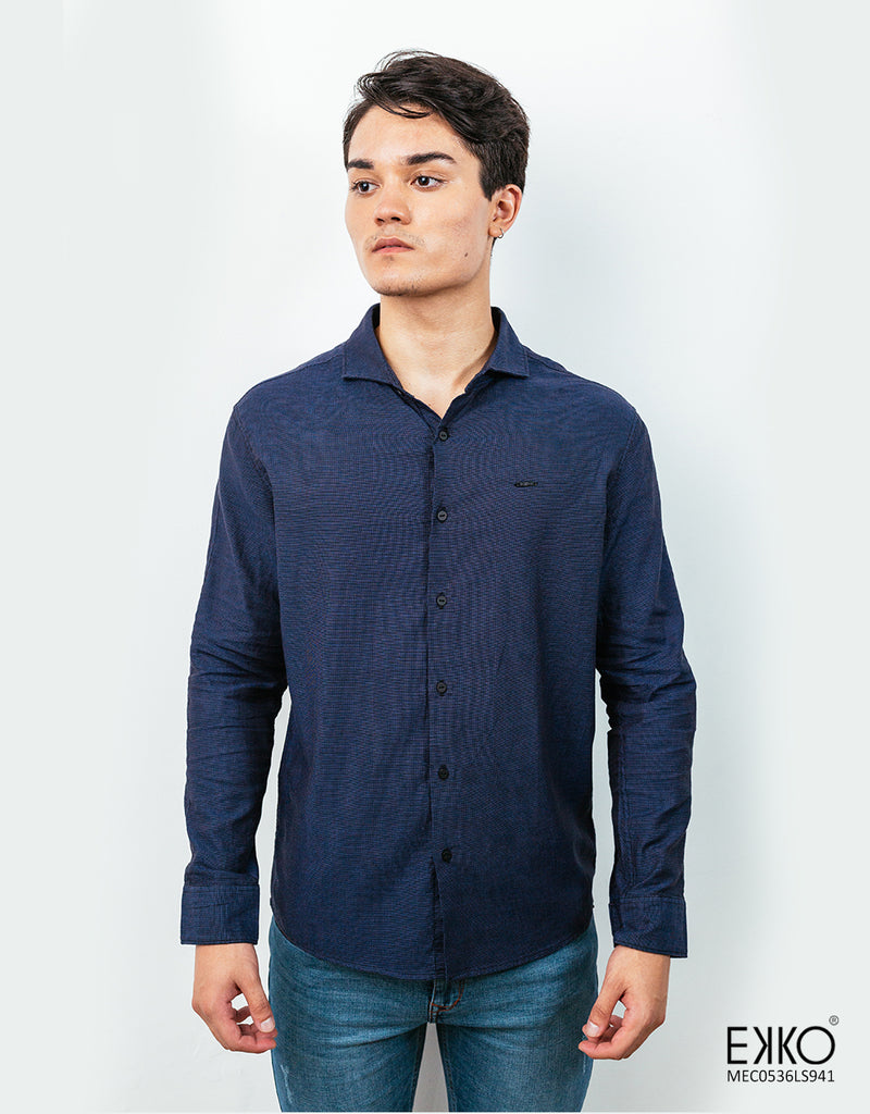 Cotton Long Sleeve Shirt - MEC0536LS