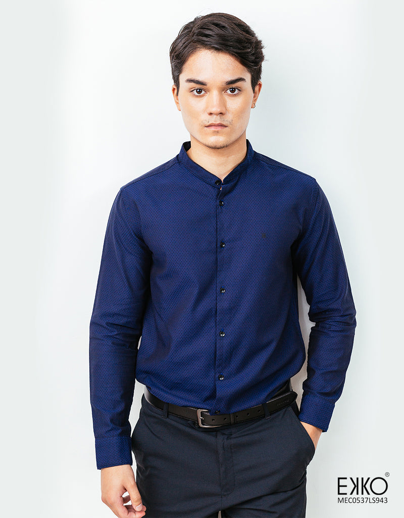 Cotton Long Sleeve Shirt - MEC0537LS