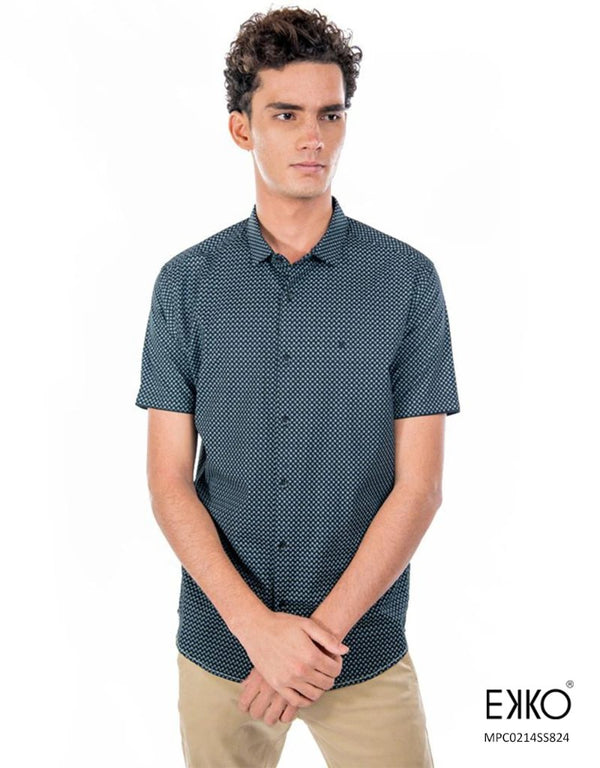 Cotton Short Sleeve Shirt - MPC0214SS
