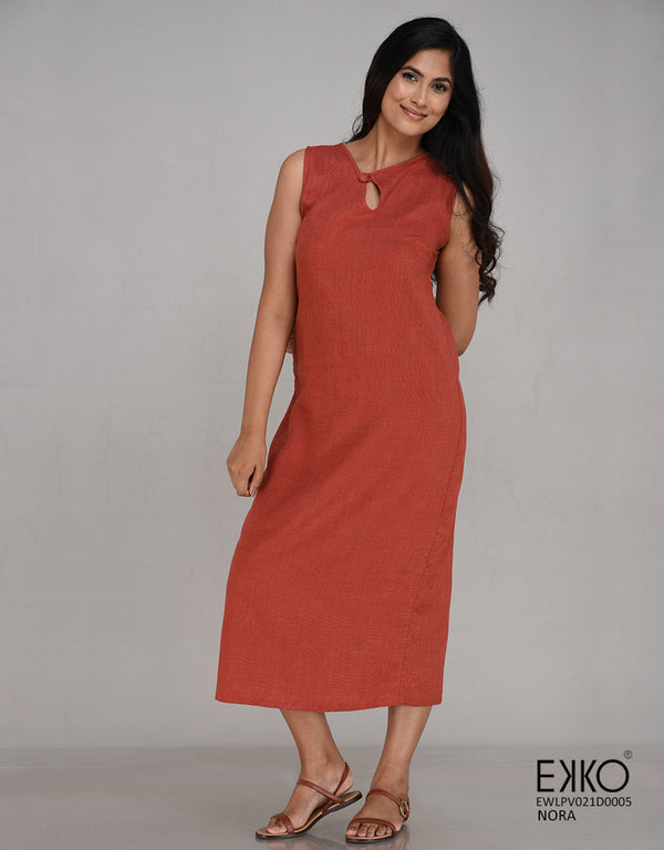 Nora Dress - Linen Blend
