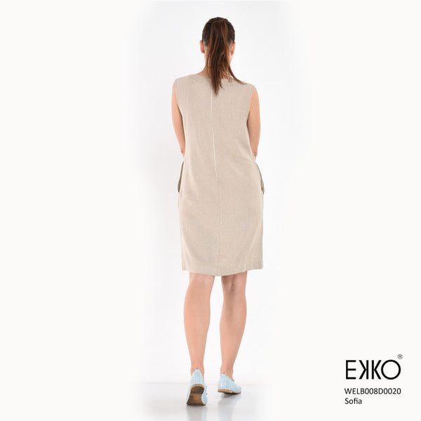 Sofia Dress - Linen Blend