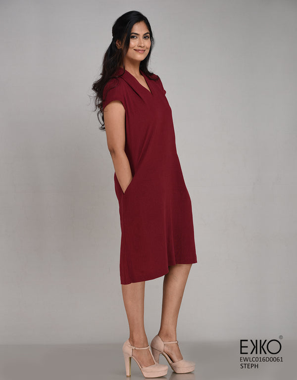 Steph Dress - Linen Blend