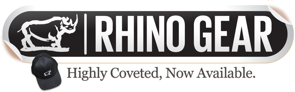 Rhino Gear - Highly Coveted, Now Available