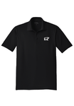 Short-Sleeved Moisture-Wicking Crew Polo