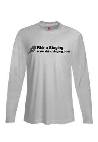 Long-Sleeved Moisture-Wicking Stagehand Tee