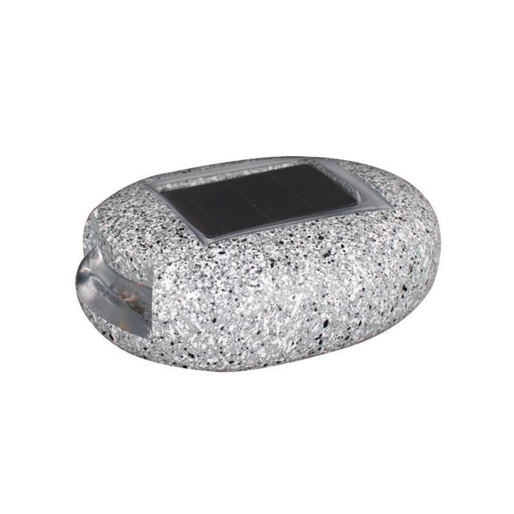 Solar Dock Light LED-Pebbles Decorative Stones Landscape Lighting